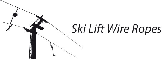 Ski lift wire ropes
